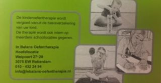 In Balans Oefentherapie